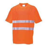 Tee-Shirt confort coton orange PORTWEST